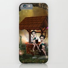 Cute playing fairy Slim Case iPhone 6s
