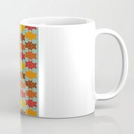 Retro Butterfly Print Coffee Mug