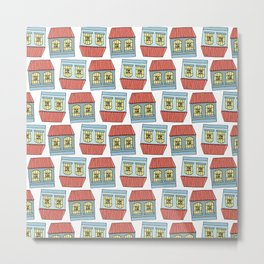 Venezuelan colonial houses Metal Print