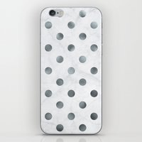 holographic iPhone & iPod Skins featuring marbled holographic confetti  by spankrock susanna