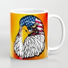 Confederate and Union Eagles Mug