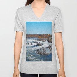 Great Falls Virginia Unisex V-Neck