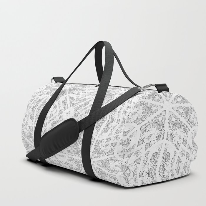 Pattern Grey / Gray Duffle Bag