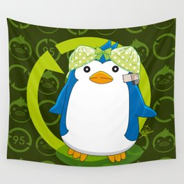 N° 2 Sexy Spy - Mawaru Penguindrum Wall Tapestry