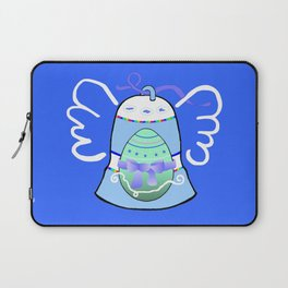 Blue Bell on Blue Laptop Sleeve