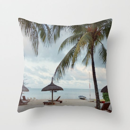 Sunrise in Mauritius II Throw Pillow