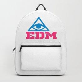 EDM rave logo Backpack