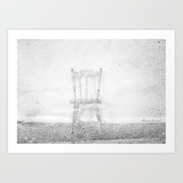 Between Space and Emptiness Art Print