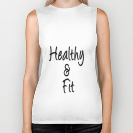 Healthy & Fit Collection Biker Tank