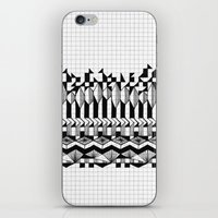 notebook iPhone & iPod Skins featuring School notebook 2 by Eva Bellanger