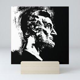 Face Lincoln Mini Art Print