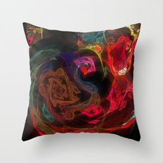 Invisible Walls Throw Pillow