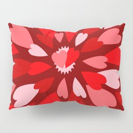 Love Is / Hearts Galore Pillow Sham