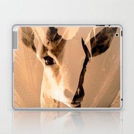 Beautiful and fast - Impala portrait Laptop & iPad Skin