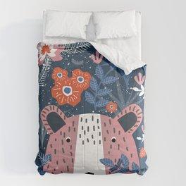 Bear Garden Comforters