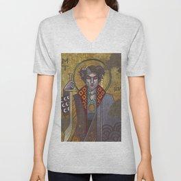 Byzantine Mollymauk Unisex V-Neck