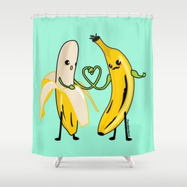Love between men Shower Curtain