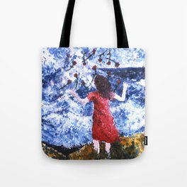 Saying Goodbye Tote Bag