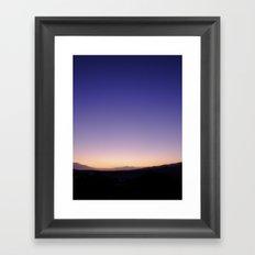 The Sunset Framed Art Print