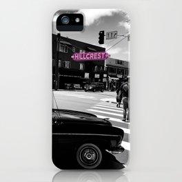 Hillcrest San Diego iPhone Case
