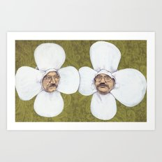 Flower Men Art Print