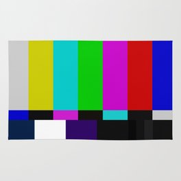 TV bars color testTV bars color test Rug