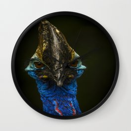 The Cassowary Wall Clock