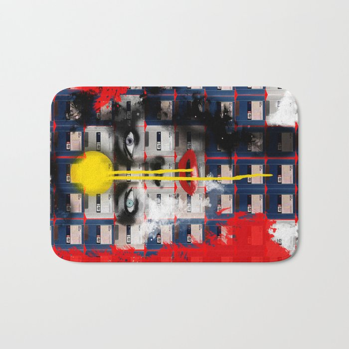 Disk Head 1 Bath Mat