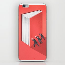 BANNED BOOKS iPhone Skin