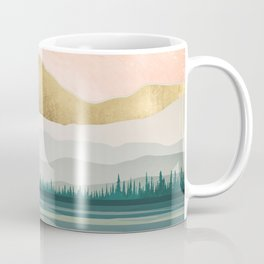 Spring Forest Lake Coffee Mug