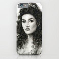 Deanna Troi iPhone 6s Slim Case