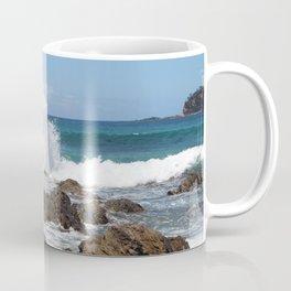 Sea Waves Crashing at Malua Bay Coffee Mug