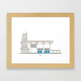 Iglesia de La Salle La Colina Framed Art Print
