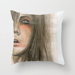 Slow motion Throw Pillow