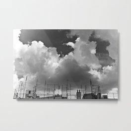 Urban Roof Metal Print