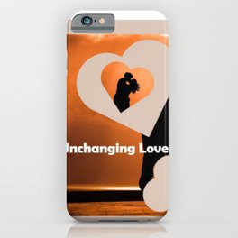 Unchanging Love iPhone Case