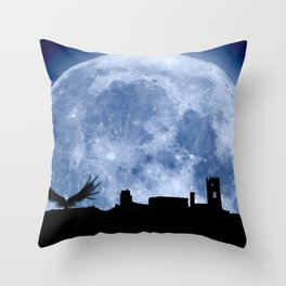 Tribute to the first flying man (Diego Marín Aguilera) in history Throw Pillow
