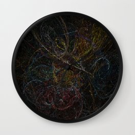 Voodoo Thought Cubes Wall Clock