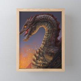 The Devastator Framed Mini Art Print