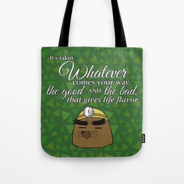 The Good And The Bad Mr. Resetti Quote Tote Bag