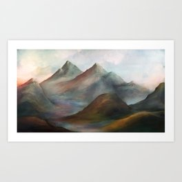 A View of Tranquillity Art Print