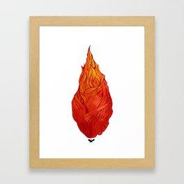 Fiery Soul Framed Art Print