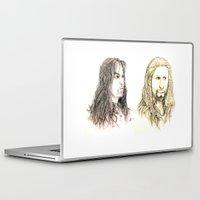 fili Laptop & iPad Skins featuring Kili and Fili by Zalazny