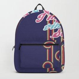 i'm just a vintage soul Backpack