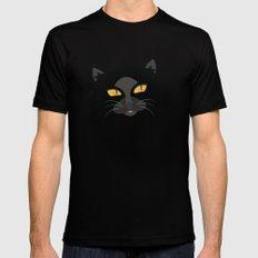 Black Cat Black Mens Fitted Tee MEDIUM