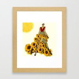 Life In A Sundress Framed Art Print