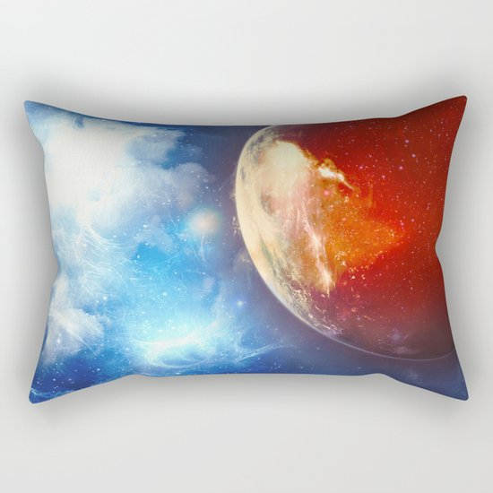 Sunsets on Mars are Blue Rectangular Pillow