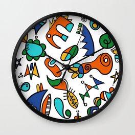Amusons nous Wall Clock