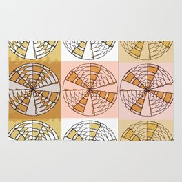 Macrame Circles Rug