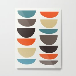 Colored composition VII Metal Print